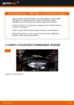 Cseréljünk Fékdob BMW 1 SERIES: felhasználói kézikönyv