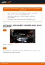 Anleitung: BMW E82 Bremsbeläge vorne wechseln