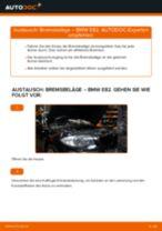 Austauschen von Bremsbacken für Handbremse BMW 1 SERIES: PDF kostenlos