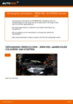 Hoe Remschijven vervangen en installeren BMW 1 SERIES: pdf tutorial