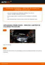 Remblokset BMW 1 Coupe (E82) monteren - stap-voor-stap tutorial
