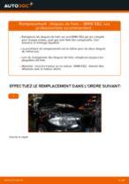 Comment changer : disques de frein arrière sur BMW E82 - Guide de remplacement