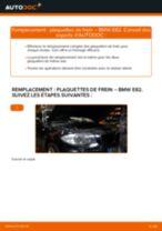 Comment changer : plaquettes de frein arrière sur BMW E82 - Guide de remplacement