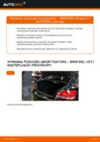 Jak wymienić poduszka amortyzatora tył w BMW E82 - poradnik naprawy