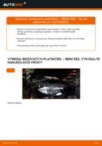 Vymeniť Brzdové doštičky BMW 1 SERIES: zadarmo pdf