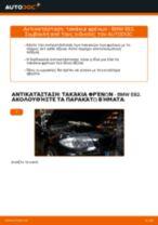 Αλλαγή Τακάκια Φρένων BMW 1 SERIES: εγχειριδιο χρησης