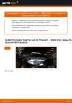 Substituição Jogo de pastilhas para travão de disco BMW 1 SERIES: pdf gratuito