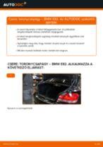 Hátsó toronycsapágy-csere BMW E82 gépkocsin – Útmutató
