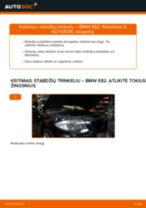 Pakeisti Stabdžių Kaladėlės BMW 1 SERIES: instrukcija