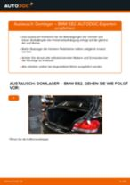 Wie Stoßdämpferlager hinten und vorne beim BMW 1 Coupe (E82) wechseln - Handbuch online