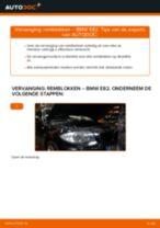 Montage Remblokset BMW 1 Coupe (E82) - stap-voor-stap handleidingen