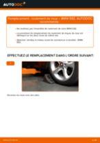 Comment changer : roulement de roue avant sur BMW E82 - Guide de remplacement