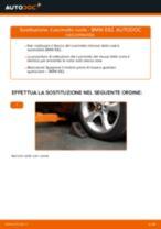 PDF manuale di sostituzione: Cuscinetto mozzo ruota BMW 1 Coupe (E82) posteriore e anteriore