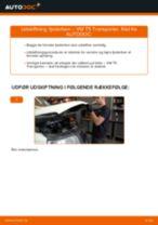 Udskift fjederben for - VW T5 Transporter | Brugeranvisning
