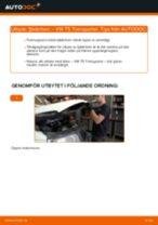 Laga Stötdämpare VW TRANSPORTER: verkstadshandbok
