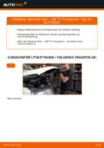 Slik bytter du fjærende ben fremme på en VW T5 Transporter – veiledning