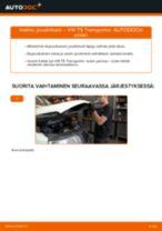 Kuinka vaihtaa joustintuki eteen VW T5 Transporter-autoon – vaihto-ohje