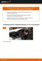 Jak wymienić amortyzator teleskopowy przód w VW T5 Transporter - poradnik naprawy