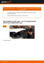 Cum să schimbați: filtru aer la VW T5 Transporter | Ghid de înlocuire