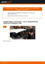 Udskift luftfilter - VW T5 Transporter | Brugeranvisning