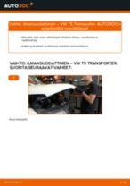 Kuinka vaihtaa ilmansuodattimen VW T5 Transporter-autoon – vaihto-ohje