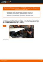 Jak wymienić filtr powietrza w VW T5 Transporter - poradnik naprawy