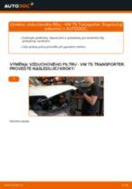 Jak vyměnit vzduchový filtr na VW T5 Transporter – návod k výměně