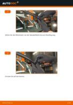 VW Scheibenwischerblätter Front + Heckscheibe selber wechseln - Online-Anweisung PDF