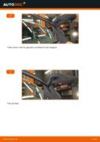 Udskift viskerblade for - VW T5 Transporter | Brugeranvisning