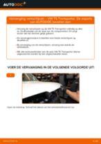 Zelf Schijfremmen achter en vóór vervangen VW - online handleidingen pdf