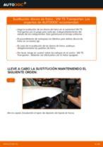 Cómo cambiar: discos de freno de la parte trasera - VW T5 Transporter | Guía de sustitución