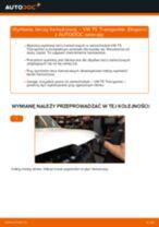 Jak wymienić tarcze hamulcowe tył w VW T5 Transporter - poradnik naprawy