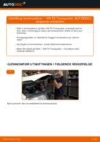 Slik bytter du bremseskiver fremme på en VW T5 Transporter – veiledning