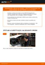 Instalação Discos de travagem VW TRANSPORTER V Box (7HA, 7HH, 7EA, 7EH) - tutorial passo-a-passo
