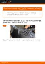 VW TRANSPORTER fejlfinding af manual