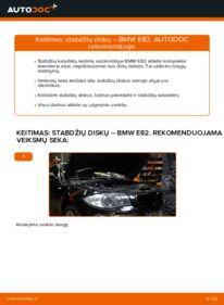 Kaip atlikti keitimą: 120d 2.0 BMW E82 Stabdžių diskas