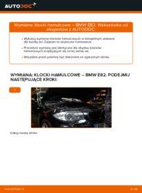 Jak przeprowadzić wymianę: Klocki Hamulcowe w BMW 1 SERIES