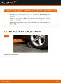 Kaip atlikti keitimą: 120d 2.0 BMW E82 Rato guolis