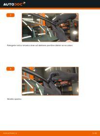 Kako izvesti menjavo: Metlica brisalnika stekel na 2.5 TDI VW T5 Van