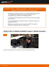 Comment effectuer un remplacement de Disques De Frein sur 2.5 TDI VW T5 Van