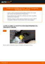 Manual de instrucciones VW TRANSPORTER