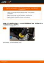 Vaihda VW Takajarrupalat ja etujarrupalat itse - käsikirja verkossa