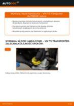 Jak wymienić klocki hamulcowe tył w VW T5 Transporter - poradnik naprawy
