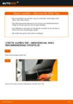 Hur byter man och justera Kupeluftfilter : gratis pdf guide