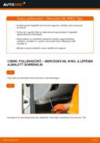 MERCEDES-BENZ ML-osztály javítási és karbantartási útmutató