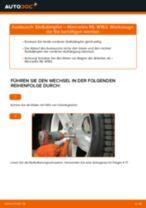 Schritt-für-Schritt-PDF-Tutorial zum Lambdasonde-Austausch beim MERCEDES-BENZ M-CLASS (W163)