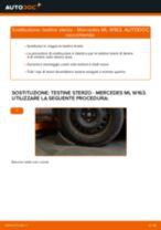 Cambio Cavo Freno A Mano MERCEDES-BENZ M-CLASS (W163): guida pdf