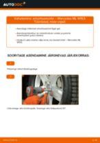 Samm-sammuline PDF-juhend Volvo C30 533 Luugiamordid asendamise kohta