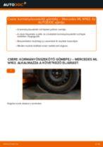MERCEDES-BENZ ML-osztály hibaelhárítási kézikönyv