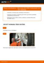 Kā nomainīt un noregulēt Amortizators MERCEDES-BENZ M-CLASS: pdf ceļvedis